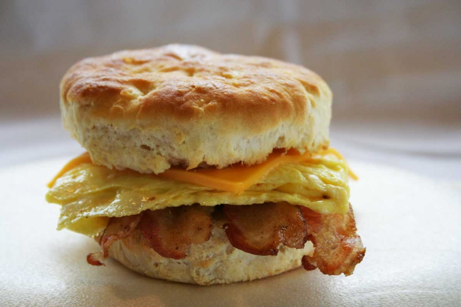 Andy's Delicious Breakfast Biscuit
